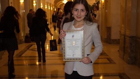 Верхнемамонская школьница стала призером межрегионального конкурса с фильмом о георгиевских кавалерах