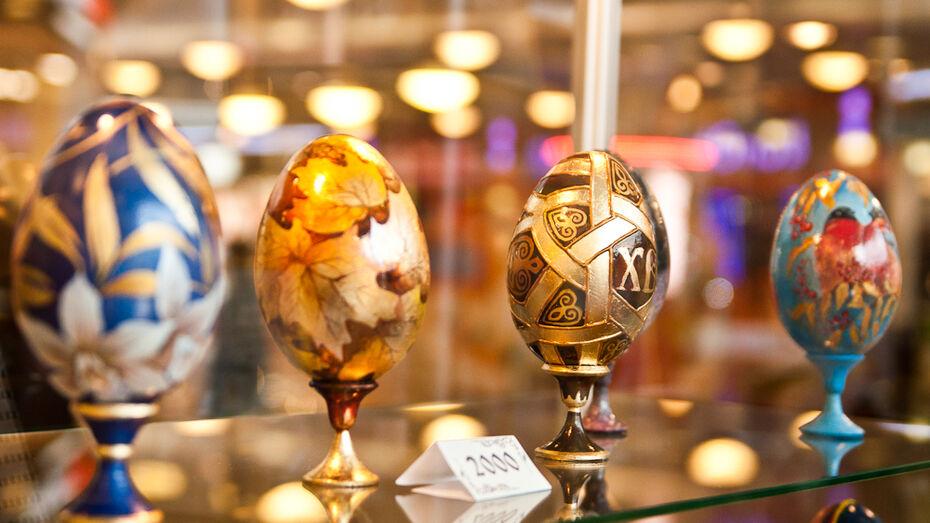 В Воронеже открылась выставка-продажа пасхальных сувениров, созданных известными воронежцами