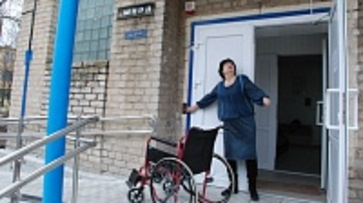 Кантемировское отделение соцзащиты переоборудовали для удобства инвалидов