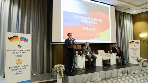 Экономика Воронежской области стала открытием для немецких предпринимателей