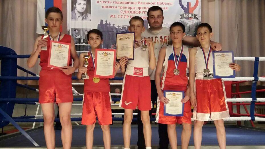 Боксеры из Семилук победили в областном первенстве