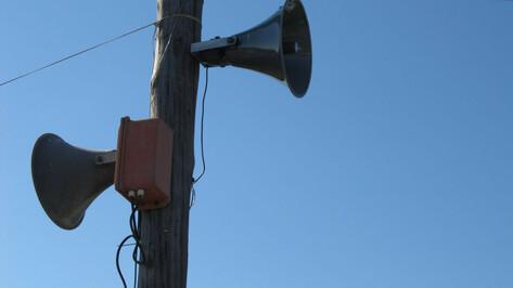 Системы экстренного оповещения с сиренами проверят в Воронежской области