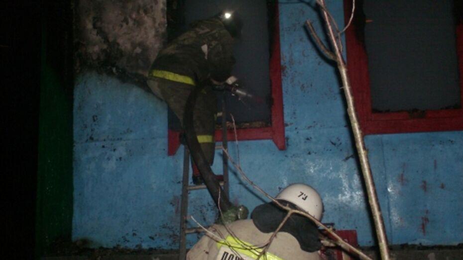 В Воронежской области на пожаре погиб мужчина