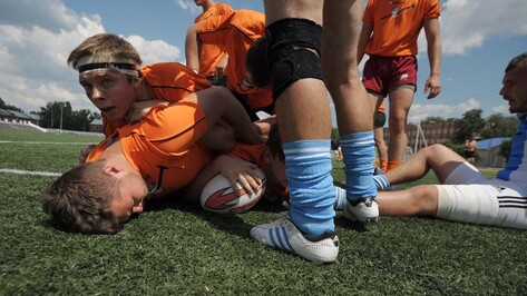 Воронежские регбисты в домашнем матче выиграли у волгоградских «Героев» (ФОТОРЕПОРТАЖ)