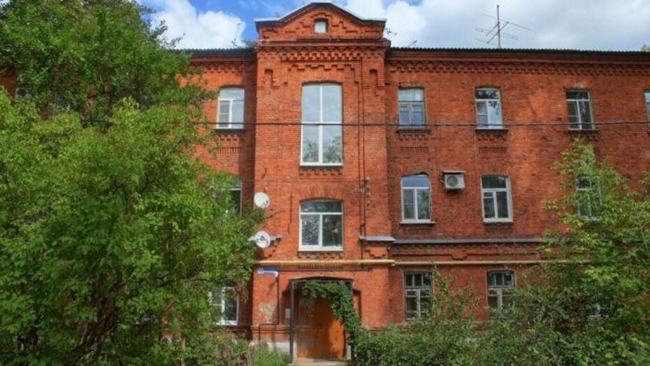 В Воронеже отреставрируют Дом ротных командиров Романовской слободы на Краснознаменной