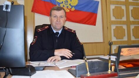 Терновский райотдел полиции возглавил Владимир Болховитин
