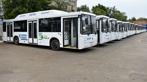 Власти Воронежа закупят автобусы на газе на аукционе