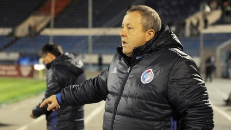 Тренер воронежского «Факела» Павел Гусев: «Игра прошла с нашим преимуществом»