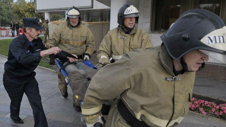 В Воронеже на пожаре погибли два пенсионера