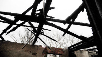 На месте пожара в воронежском поселке нашли труп 57-летнего мужчины