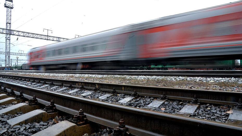 Мужчина погиб под колесами пассажирского поезда в Воронежской области