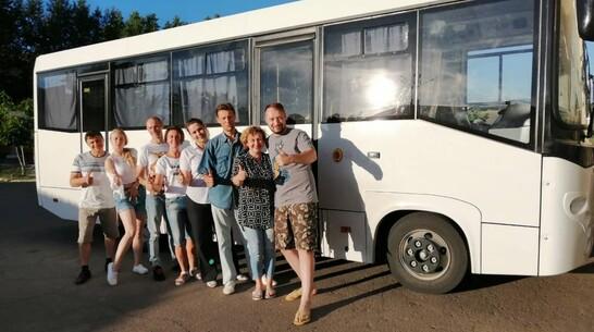 Лискинский музыкально-драматический театр получил комфортабельный автобус