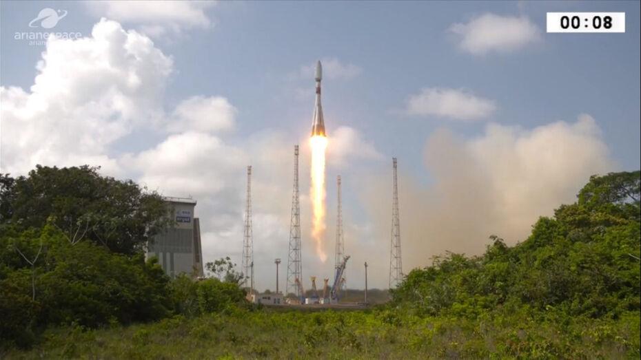 Ракета с воронежским двигателем вывела на орбиту французский спутник