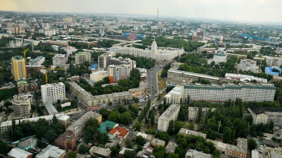 Власти начнут разработку нового Генплана Воронежа в 2017 году