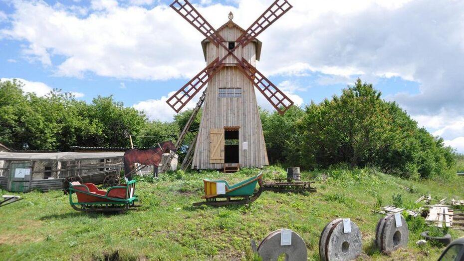 В хохольском селе в мельнице открыли музей старины