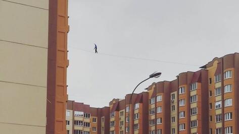 Трюк воронежского канатоходца попал в эфир «Первого канала»