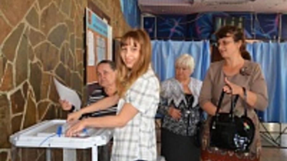 На выборах губернатора в Поворинском районе проголосовало 89,91%
