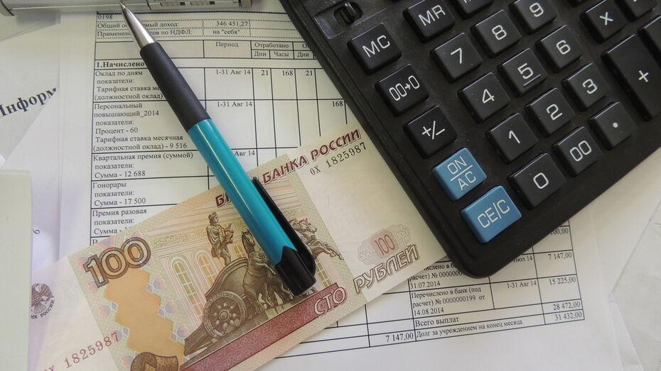 Средняя зарплата в Воронежской области в июле превысила 41 тыс рублей