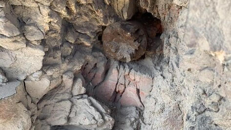 В стене воронежской 4-этажки нашли два снаряда времен войны
