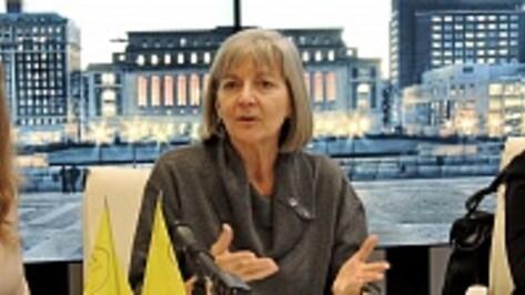 Американская журналистка Энн Купер поделилась свободой слова с воронежцами