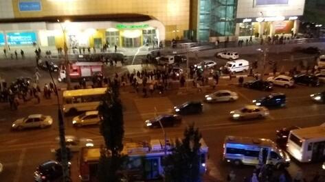 В Воронеже эвакуировали ТЦ на левом берегу