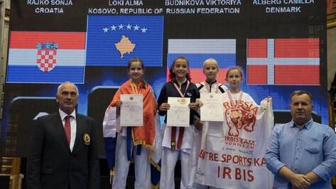Воронежцы завоевали 2 бронзы на Кубке мира по карате