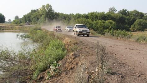 В новохоперском поселке местные жители вскладчину отремонтировали плотину