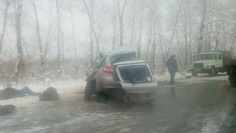 В Воронежской области в ДТП погиб 1 и пострадали 2 человека