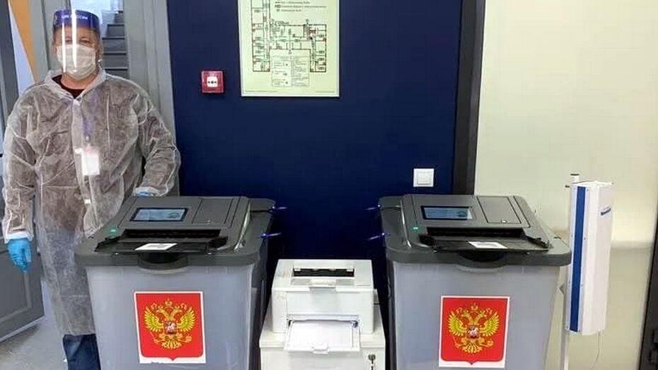 В Воронежской области продолжается голосование на выборах в Госдуму РФ