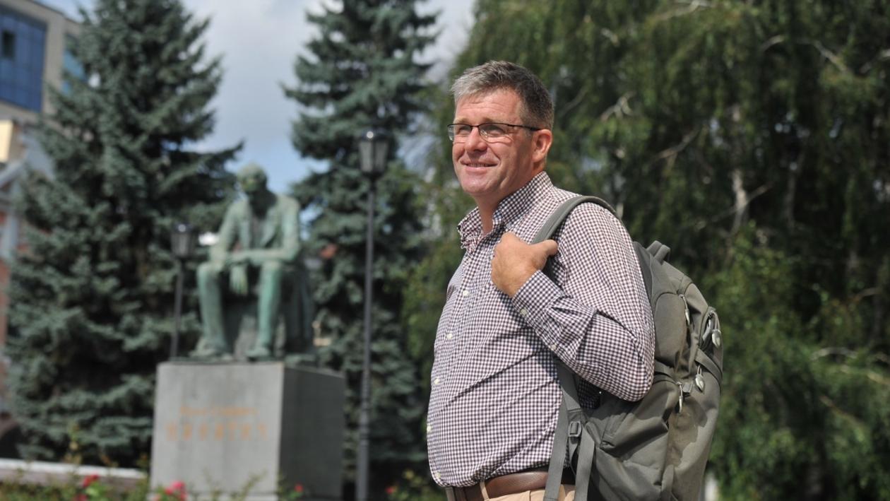 Воронеж иностранный. Немец Клаус Йон – о свадьбах и  русской культуре вождения