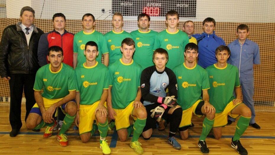 Богучарские футболисты стали «серебряными» призерами областного первенства по мини-футболу