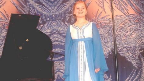 Подгоренская вокалистка стала лауреатом областного конкурса