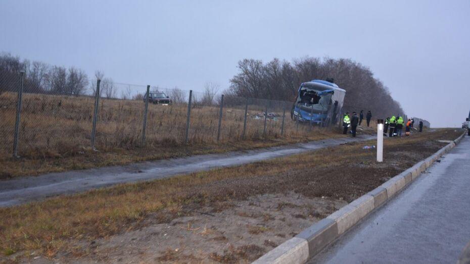 Областные власти помогут пострадавшим в ДТП с автобусом под Воронежем