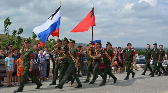 В Острогожском районе перезахоронили останки 23 красноармейцев
