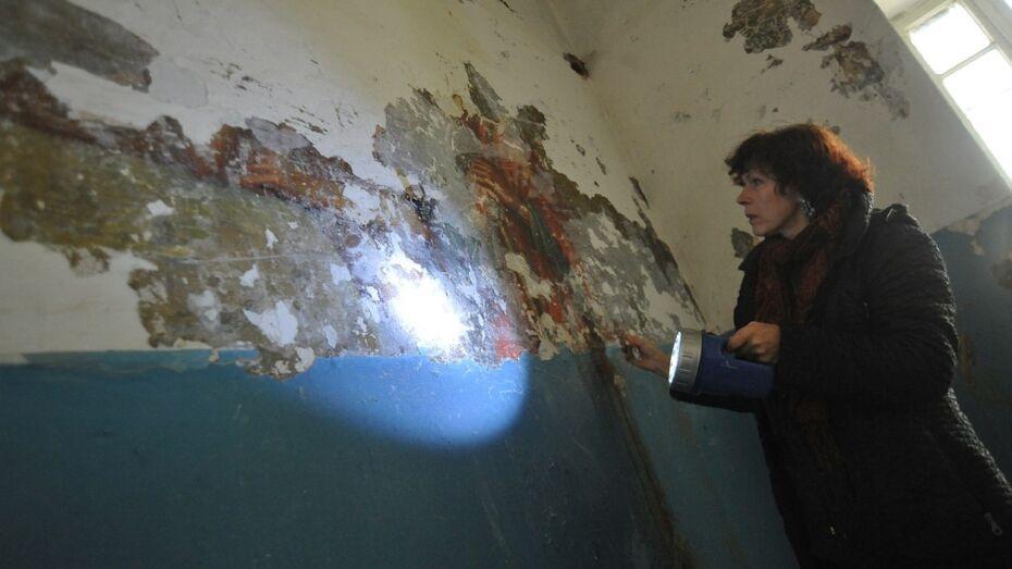 Воронежский реставратор: «Фреску в храме на Придаче написали в XIX веке»