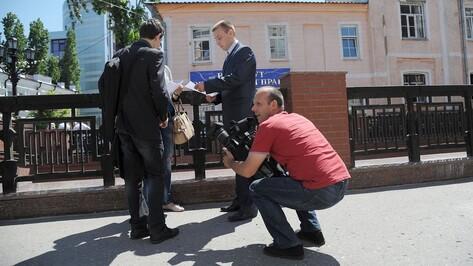 В центре Воронежа сняли фрагмент художественного фильма