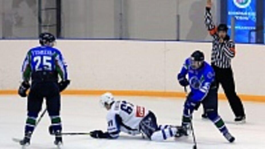 Хоккеисты «Россоши» на своем льду уступили «Беркутам Кубани»