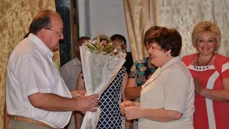 Грибановские медработники отметили 80-летие системы здравоохранения района