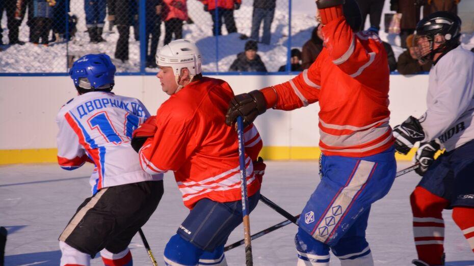 В Кантемировском районе стартовал районный чемпионат по хоккею
