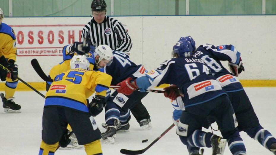 Хоккеисты «Россоши» обыграли «Брянск» и вышли в четвертьфинал