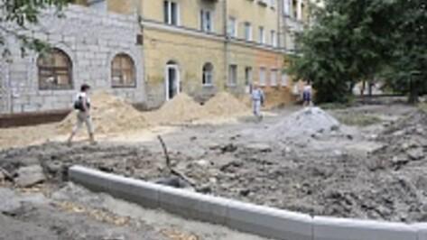 В Воронеже на благоустройство дворов в 2014 году выделят около 27 миллионов рублей