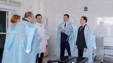 Воронежское облправительство выделит 16 млн рублей на завершение ремонта Терновской ЦРБ