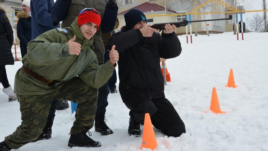 В селе Гремячьем Хохольского района возродили игру «Зарница»