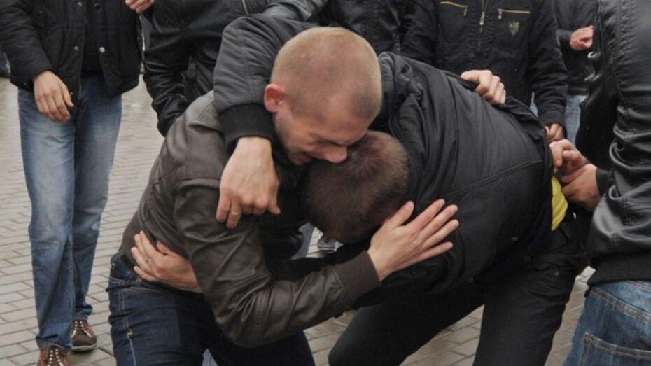 В массовой драке в Воронеже участвовал курсант института МВД?