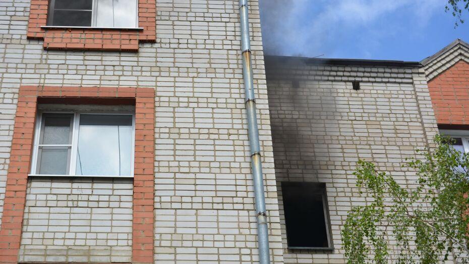 Житель Воронежской области отравился угарным газом при пожаре