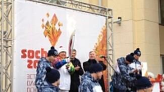 В Воронеже стартовала эстафета Олимпийского огня