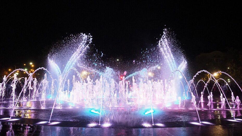 Сбер открыл мультимедийный фонтан в Липецке