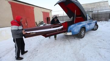 На ритуальную выставку в Новосибирск воронежец поедет на самодельном катафалке