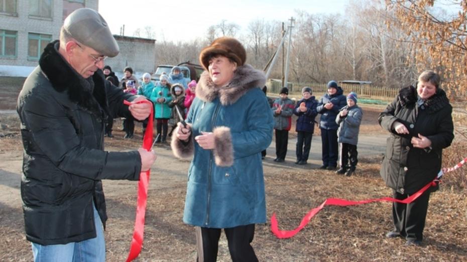 В Новоусманском районе запустили новую школьную котельную