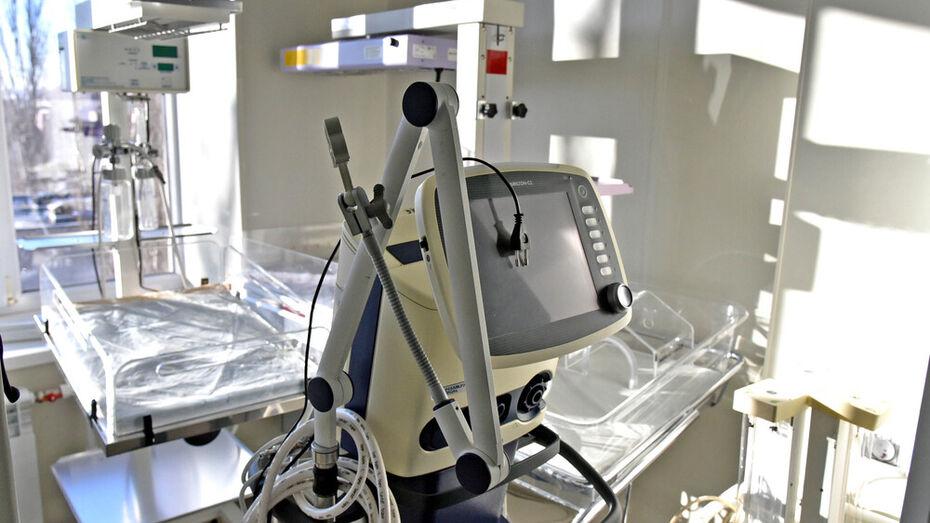 В Воронежской детской больнице №2 усовершенствовали отделение реанимации